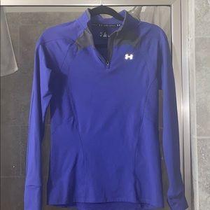 Under armour medium athletic pullover half zip top
